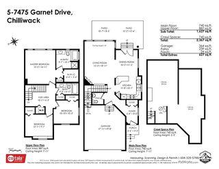 "Photo 40: 5 7475 GARNET Drive in Chilliwack: Sardis West Vedder Rd Townhouse for sale in ""Silver Creek Estates"" (Sardis)  : MLS®# R2481336"