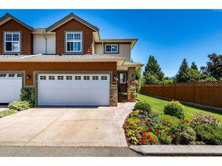 "Photo 1: 5 7475 GARNET Drive in Chilliwack: Sardis West Vedder Rd Townhouse for sale in ""Silver Creek Estates"" (Sardis)  : MLS®# R2481336"