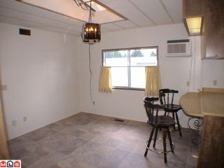 """Photo 9: 195 3665 244TH Street in Langley: Otter District Manufactured Home for sale in """"LANGLEY GROVE ESTATES"""" : MLS®# F1027442"""