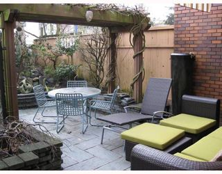 """Photo 6: 5 960 W 13TH Avenue in Vancouver: Fairview VW Townhouse for sale in """"BRICKHOUSE"""" (Vancouver West)  : MLS®# V749405"""