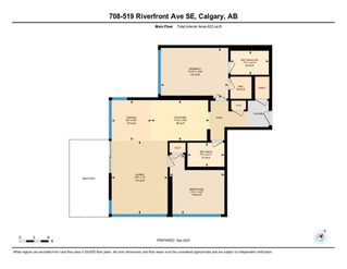 Photo 28: 708 519 RIVERFRONT Avenue SE in Calgary: Downtown East Village Apartment for sale : MLS®# A1037488