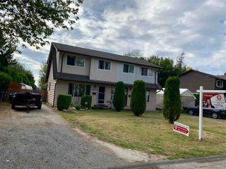 Main Photo: 6113 MORGAN Drive in Surrey: Cloverdale BC House 1/2 Duplex for sale (Cloverdale)  : MLS®# R2400124