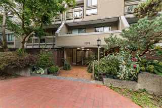 """Photo 1: 305 1299 W 7TH Avenue in Vancouver: Fairview VW Condo for sale in """"MARBELLA"""" (Vancouver West)  : MLS®# R2501313"""