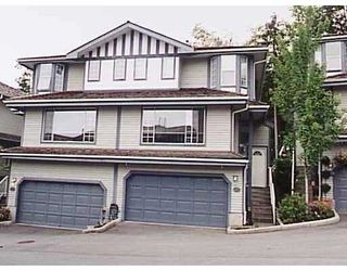 Photo 1: 127 2998 ROBSON DR in Coquitlam: Westwood Plateau Townhouse for sale : MLS®# V539450