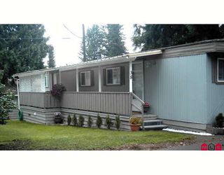 "Photo 1: 38 24330 FRASER Highway in Langley: Otter District Manufactured Home for sale in ""Langley Grove Estates"" : MLS®# F2825555"