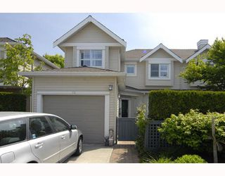 "Photo 1: 14 5988 BLANSHARD Drive in Richmond: Terra Nova Townhouse for sale in ""RIVIERA GARDENS"" : MLS®# V781693"