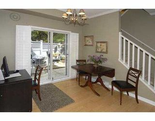 "Photo 4: 14 5988 BLANSHARD Drive in Richmond: Terra Nova Townhouse for sale in ""RIVIERA GARDENS"" : MLS®# V781693"