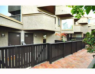 """Photo 28: # 33 870 W 7TH AV in Vancouver: Fairview VW Townhouse for sale in """"LAUREL COURT"""" (Vancouver West)  : MLS®# V786328"""