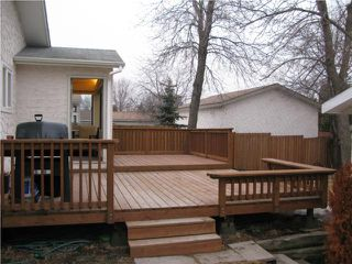 Photo 20: 1239 Chancellor Drive in WINNIPEG: Fort Garry / Whyte Ridge / St Norbert Residential for sale (South Winnipeg)  : MLS®# 1004002