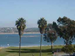 Photo 3: CROWN POINT Residential Rental for rent : 1 bedrooms : 3770 Crown Point Dr #104 in San Diego