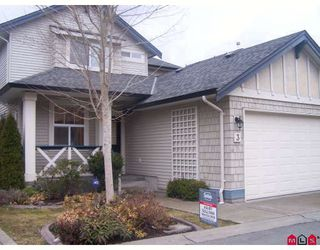 "Photo 1: 3 18868 69TH Avenue in Surrey: Clayton House for sale in ""CLAYTONBURY"" (Cloverdale)  : MLS®# F2905892"