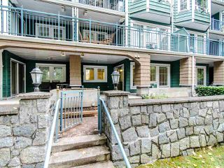 "Photo 1: 109 1189 WESTWOOD Street in Coquitlam: North Coquitlam Condo for sale in ""LAKESIDE TERRACE"" : MLS®# R2483775"