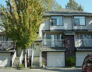 "Photo 1: 2450 LOBB Ave in Port Coquitlam: Mary Hill Townhouse for sale in ""SOUTHSIDE"" : MLS®# V617013"