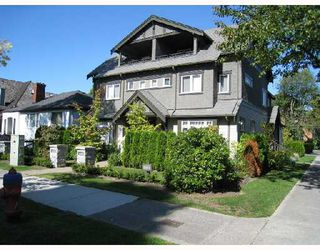 "Photo 1: 2007 W 13TH Avenue in Vancouver: Kitsilano House 1/2 Duplex for sale in ""THE MAPLES"" (Vancouver West)"
