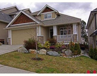 "Photo 1: 6814 198B Street in Langley: Willoughby Heights House for sale in ""ROUTELY WYND"""