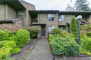 "Photo 1: 9118 CENTAURUS Circle in Burnaby: Simon Fraser Hills Townhouse for sale in ""Chalet Court"" (Burnaby North)  : MLS®# R2464006"