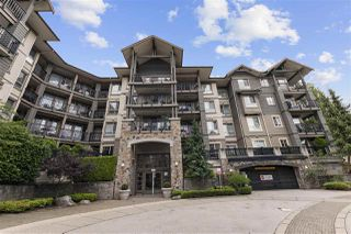 "Main Photo: 314 2969 WHISPER Way in Coquitlam: Westwood Plateau Condo for sale in ""SILVER SPRINGS"" : MLS®# R2484761"