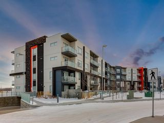 Main Photo: 411 8531 8A Avenue SW in Calgary: West Springs Apartment for sale : MLS®# A1061948