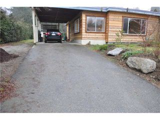 "Photo 1: 5459 DERBY Road in Sechelt: Sechelt District House for sale in ""WEST SECHELT"" (Sunshine Coast)  : MLS®# V860608"