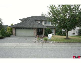 "Main Photo: 8734 SUNRISE Drive in Chilliwack: Chilliwack Mountain House for sale in ""SUNRISE ESTATES"" : MLS®# H2902649"
