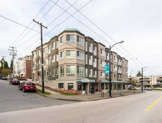 "Photo 1: 207 3615 W 17TH Avenue in Vancouver: Dunbar Condo for sale in ""Pacific Terrace"" (Vancouver West)  : MLS®# R2426507"