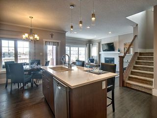Photo 4: 3403 Cameron Heights Cove in Edmonton: Zone 20 Attached Home for sale : MLS®# E4187126