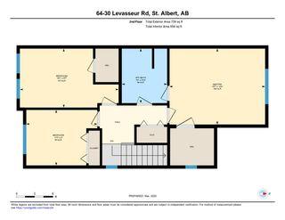 Photo 27: 64 30 LEVASSEUR Road: St. Albert Townhouse for sale : MLS®# E4190576