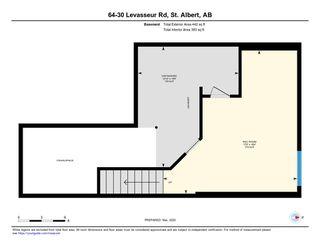 Photo 28: 64 30 LEVASSEUR Road: St. Albert Townhouse for sale : MLS®# E4190576