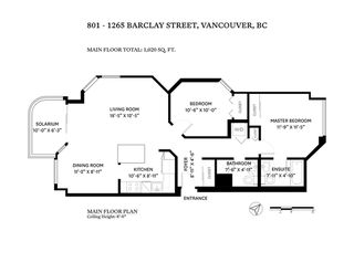"Photo 38: 801 1265 BARCLAY Street in Vancouver: West End VW Condo for sale in ""The Dorchester"" (Vancouver West)  : MLS®# R2518947"