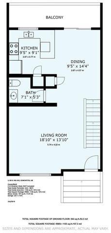 Photo 24: 3 9515 160 AV NW in Edmonton: Zone 28 Townhouse for sale : MLS®# E4166148