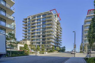 """Main Photo: 705 172 VICTORY SHIP Way in North Vancouver: Lower Lonsdale Condo for sale in """"ATRIUM"""" : MLS®# R2503778"""