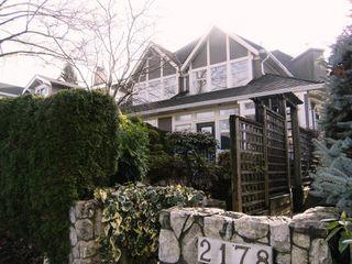 Photo 1: 2178 W 15TH Avenue in Vancouver: Kitsilano 1/2 Duplex for sale (Vancouver West)  : MLS®# V806070