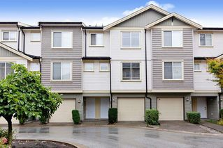 Photo 1: 25 8633 159 STREET SURREY, BC Street in Surrey: Fleetwood Tynehead Townhouse for sale : MLS®# R2502095