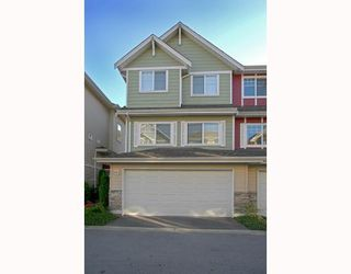 "Photo 1: 6 1108 RIVERSIDE Circle in Port Coquitlam: Riverwood Townhouse for sale in ""HERITAGE MEADOWS"" : MLS®# V791486"