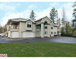 Photo 1: 21939 24TH Avenue in Langley: Campbell Valley House for sale : MLS®# F1003633