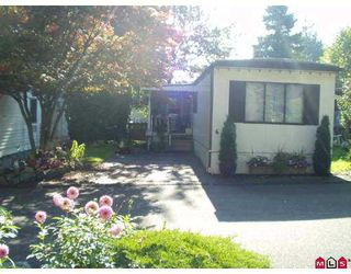Main Photo: 6 6571 KING GEORGE HY in Surrey: West Newton Manufactured Home for sale : MLS®# F2426702