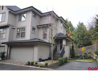 "Photo 1: 49 15152 62A Avenue in Surrey: Sullivan Station Townhouse for sale in ""Uplands"" : MLS®# F2831409"