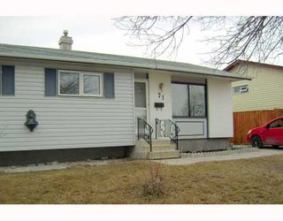 Photo 2: 71 HATCHER Road in WINNIPEG: Transcona Residential for sale (North East Winnipeg)  : MLS®# 2906170