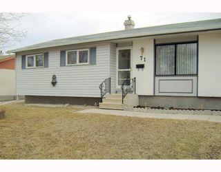 Photo 1: 71 HATCHER Road in WINNIPEG: Transcona Residential for sale (North East Winnipeg)  : MLS®# 2906170