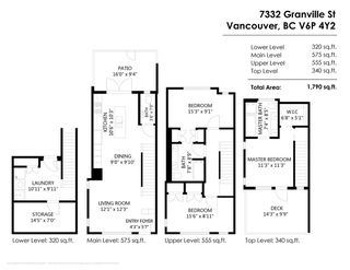 "Photo 20: 7332 GRANVILLE Street in Vancouver: South Granville Townhouse for sale in ""Granville & 57th Townhomes"" (Vancouver West)  : MLS®# R2403771"