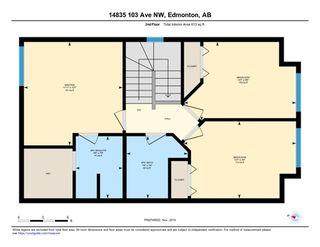Photo 33: 14835 103 Avenue in Edmonton: Zone 21 House Half Duplex for sale : MLS®# E4179200