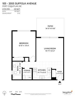 "Photo 26: 105 2055 SUFFOLK Avenue in Port Coquitlam: Glenwood PQ Condo for sale in ""Suffolk Manor"" : MLS®# R2526299"