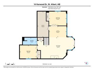 Photo 31: 14 HARWOOD Drive: St. Albert House for sale : MLS®# E4225123