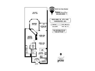 """Photo 3: 222 2680 W 4TH Avenue in Vancouver: Kitsilano Condo for sale in """"THE STAR OF KITSILANO"""" (Vancouver West)  : MLS®# V822234"""