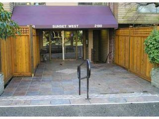 """Photo 1: 119 2190 W 7TH Avenue in Vancouver: Kitsilano Condo for sale in """"SUNSET WEST"""" (Vancouver West)  : MLS®# V831443"""