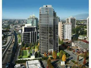 """Photo 1: 701 4400 BUCHANAN Street in Burnaby: Brentwood Park Condo for sale in """"MOTIF AT CITI"""" (Burnaby North)  : MLS®# V852676"""