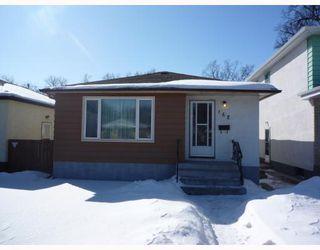 Photo 1: 168 HESPELER Avenue in WINNIPEG: East Kildonan Residential for sale (North East Winnipeg)  : MLS®# 2903776