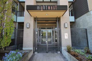 "Photo 1: 315 55 EIGHTH Avenue in New Westminster: GlenBrooke North Condo for sale in ""Eight West"" : MLS®# R2398195"