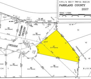 Photo 2: 57 25527 TWP RD 511 A Road: Rural Parkland County Rural Land/Vacant Lot for sale : MLS®# E4191644