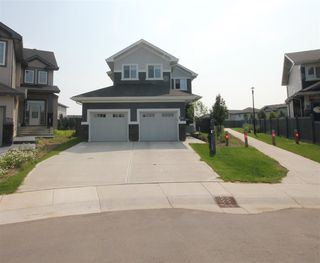 Photo 1: 8128 GOURLAY Place in Edmonton: Zone 58 House for sale : MLS®# E4168252